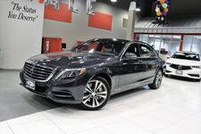 2016 Mercedes-Benz S-Class S 550 Premium 1 Package Comfort Driving Assist Package Surround View Camera 19 Inch Wheels Sunroof Navigation