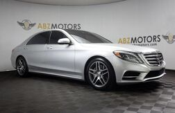 2016_Mercedes-Benz_S-Class_S 550 Sport AMG,Pano Roof,Blind Spot,360 Camera_ Houston TX