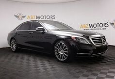 2016_Mercedes-Benz_S-Class_S 550 Sport AMG,Pano Roof,Distronic,Rear Shades_ Houston TX