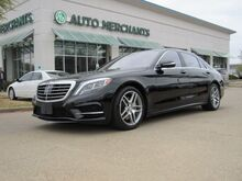 2016_Mercedes-Benz_S-Class_S550 4MATIC 4.7L 8 CYL AUTOMATIC TURBO, LEATHER SEATS, NAVIGATION SYSTEM, SAT RADIO, PREMIUM STEREO_ Plano TX