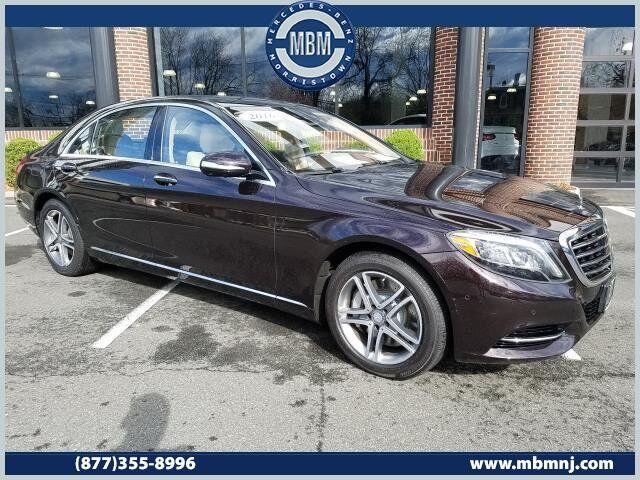 2016 Mercedes-Benz S-Class S550 4Matic® Sedan Morristown NJ
