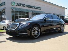 2016_Mercedes-Benz_S-Class_S550 Plugin Hybrid LEATHER, NAVIGATION, HEADUP DISPLAY, MASSAGE SEATS, PANORAMIC SUNROOF_ Plano TX