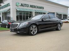 2016_Mercedes-Benz_S-Class_S550 Plugin Hybrid, LEATHER SEATS, PANORAMIC SUNROOF, NAVIGATION, HEATED FRONT SEATS, BACKUP CAMERA_ Plano TX