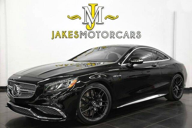 2016 Mercedes-Benz S-Class S65 AMG V12 DESIGNO Coupe ($239,975 MSRP) *ONLY 5700 MILES* San Diego CA