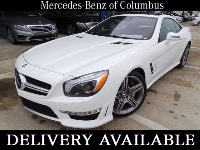 2016 Mercedes-Benz AMG SL 63 Polar White Columbus GA