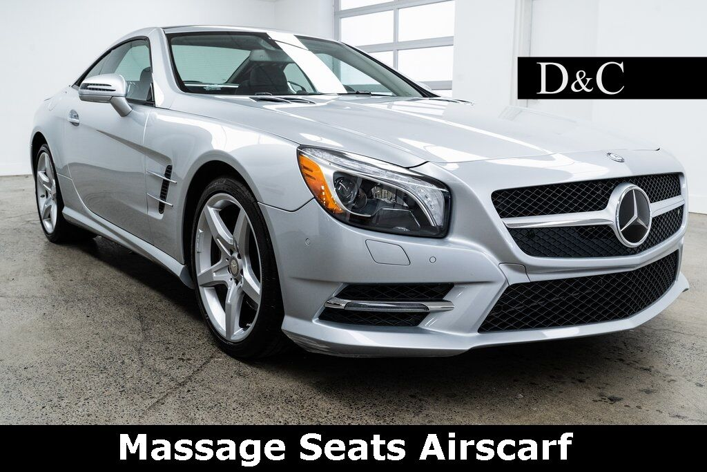 2016 Mercedes-Benz SL-Class SL 400 Roadster Massage Seats Airscarf Portland OR
