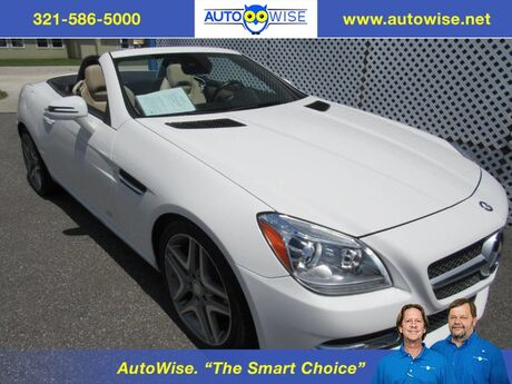 2016 Mercedes-Benz SLK 300 MAGIC SKY CONTROL SLK 300 Melbourne FL