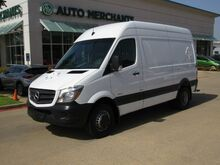 2016_Mercedes-Benz_Sprinter_3500 144, DIESEL, DRW, BLUETOOTH, BACKUP CAM, CRUISE CONTROL, LOW MILES_ Plano TX