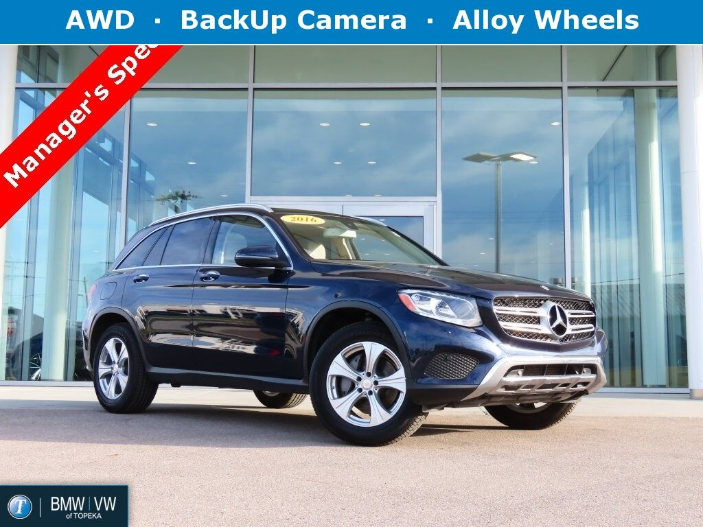 2016 Mercedes-benz Glc GLC 300 Topeka KS