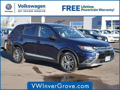 2016_Mitsubishi_Outlander_ES_ Inver Grove Heights MN