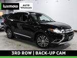 2016 Mitsubishi Outlander GT AWD 3rd Row Back-Up Camera Heated Seats