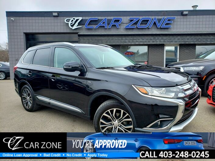 2016 Mitsubishi Outlander GT AWD FULLY LOADED LOW KMS Calgary AB