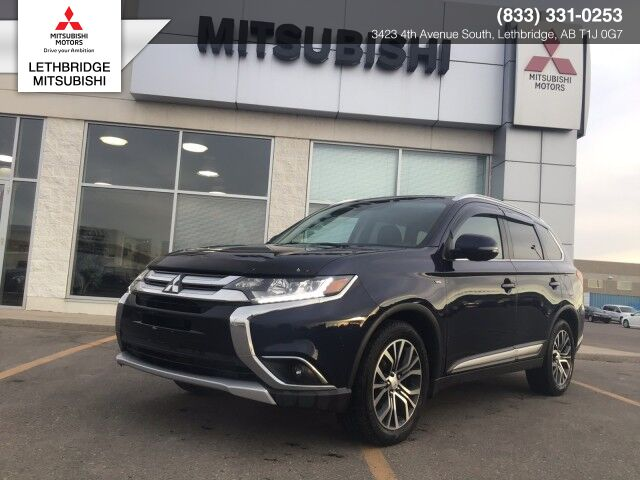 2016 Mitsubishi Outlander GT,GT, FULLY LOADED, FULLY RECONDITIONED AND INSPECTED, ONE OWNER ONLY! Lethbridge AB
