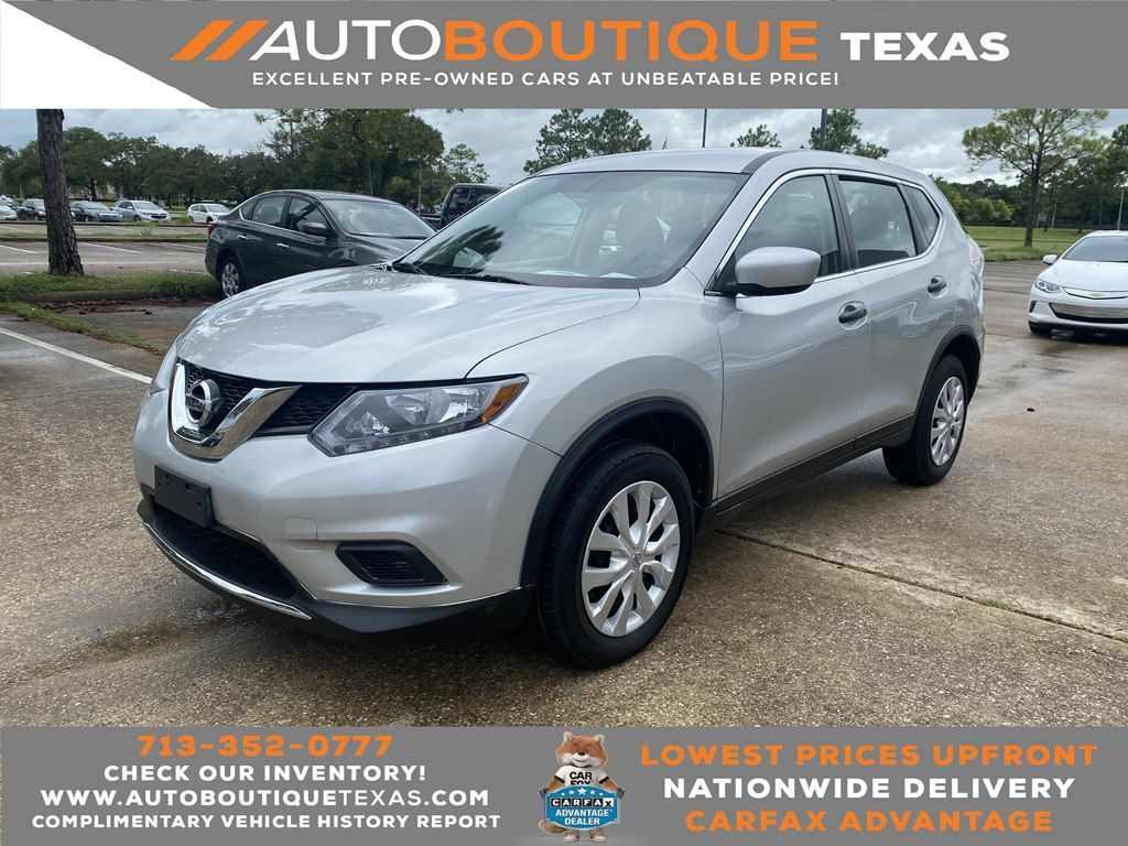 2016 NISSAN ROGUE S S Houston TX