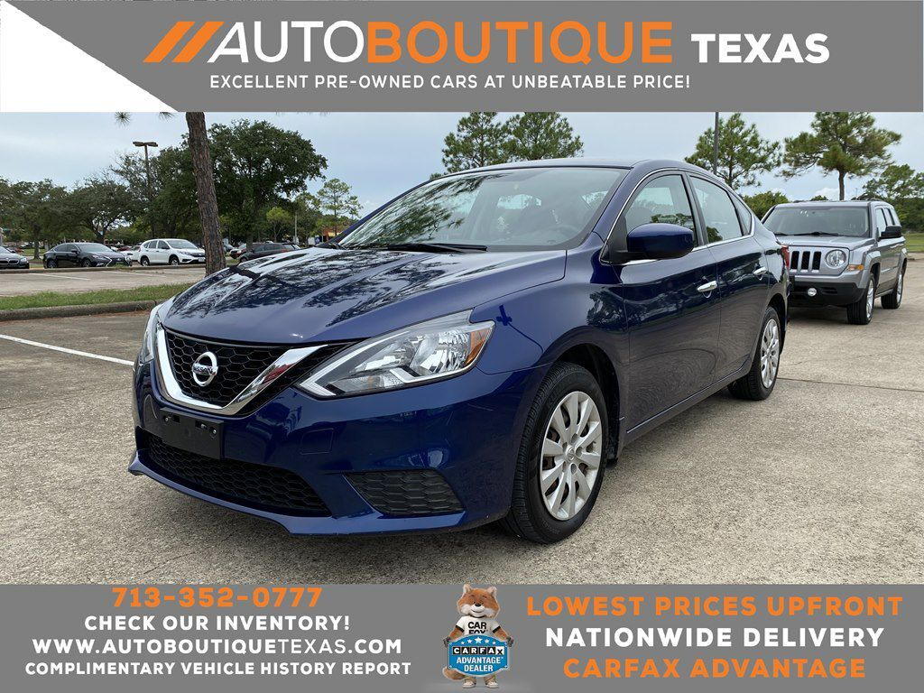 2016 NISSAN SENTRA S S Houston TX