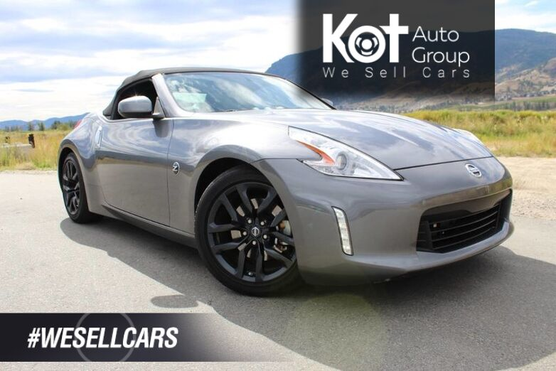 2016 Nissan 370Z 2dr Roadster Man Sport Touring w/Black Top Convertible Kelowna BC