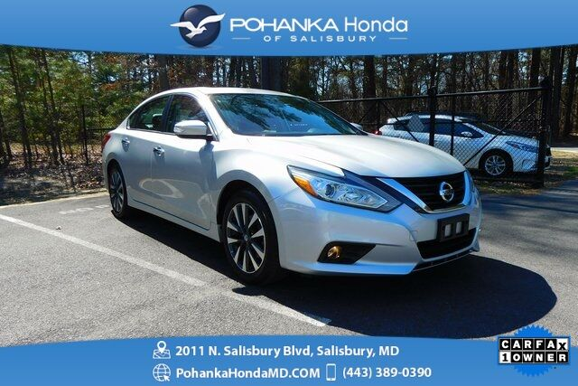 2016 Nissan Altima 2 5 Sl Sunroof Leather One Owner