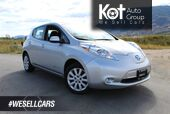 2016 Nissan LEAF S, Low Km's, Heated Front Seats