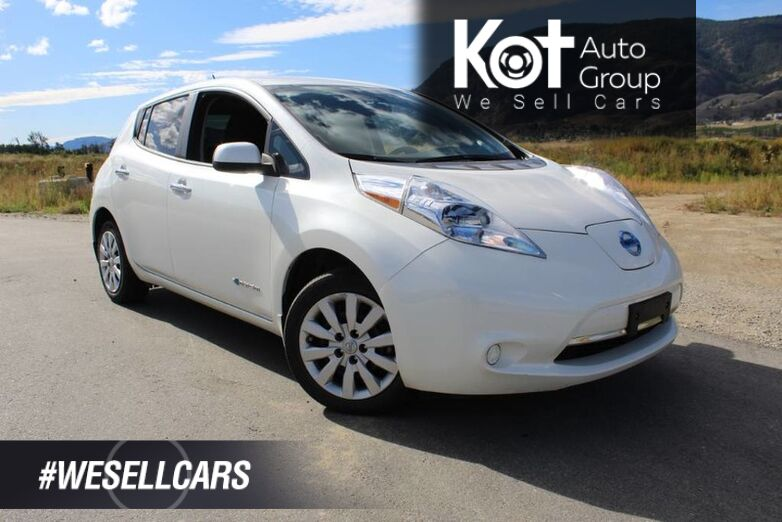 2016 Nissan LEAF S, No Accidents, Heated Front Seats Kelowna BC