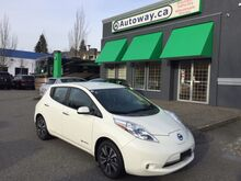 2016_Nissan_LEAF_SL | Loaded | Quick Charge | Nav | Bose Audio | Leather_ Coquitlam BC