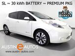 2016 Nissan LEAF SL (30 kWh Battery) *NAVIGATION, QUICK CHARGE, SURROUND-CAMS, LEATHER, BOSE, HEATED SEATS/STEERING WHEEL, BLUETOOTH AUDIO