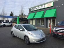 2016_Nissan_LEAF_SV | Quick Charge | Navi | Low Mileage | Heated Seats and Steering_ Coquitlam BC