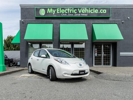 2016 Nissan Leaf S   Local BC Vehicle   No Accidents Coquitlam BC