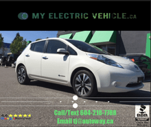 2016_Nissan_Leaf_S | Local BC Vehicle | No Accidents_ Coquitlam BC