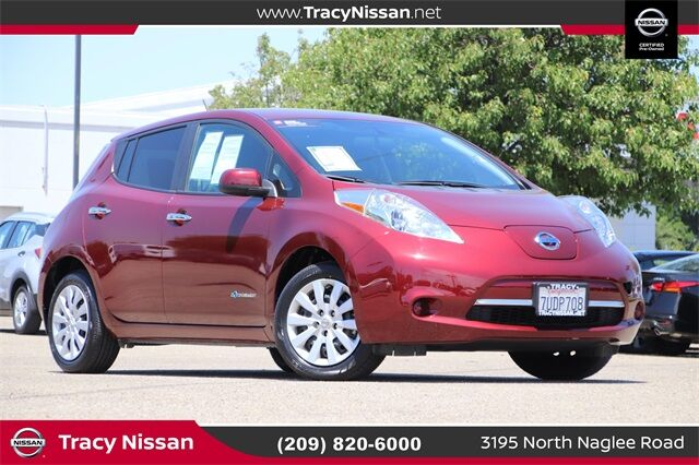 2016 Nissan Leaf S Tracy CA