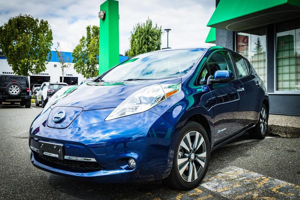 2016 Nissan Leaf SL | Quick Charge Port | Nav Coquitlam BC