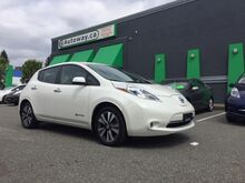 2016_Nissan_Leaf_SL w/ Quick Charge, Nav, Leather,_ Coquitlam BC