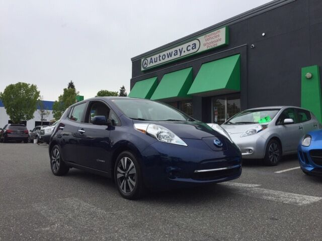 2016 Nissan Leaf SV | Quick Charge | Nav | Bose/AroundView Coquitlam BC