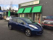2016_Nissan_Leaf_SV/ With Quick Charge and Nav_ Coquitlam BC