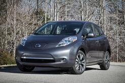 2016_Nissan_Leaf_SV w/ Quick Charge Nav Heated Seats & Steering_ Coquitlam BC