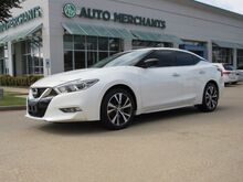 2016_Nissan_Maxima_3.5 S, NAV, BLUETOOTH/AUX/USB, PUSH BUTTON START, HOMELINK, BACKUP CAMERA, DUAL ZONE CLIMATE CONTROL_ Plano TX