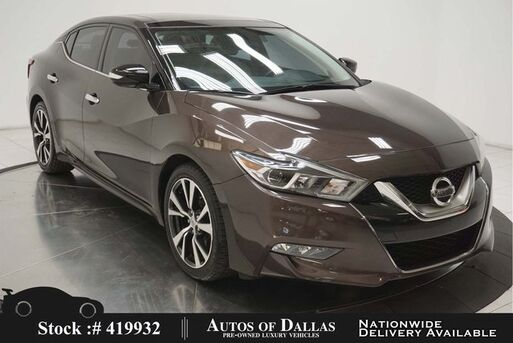 2016_Nissan_Maxima_3.5 SL NAV,CAM,PANO,HTD STS,PARK ASST,18IN WLS_ Plano TX
