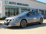 2016 Nissan Maxima 3.5 SR HEATED/COOLED SEATS, PUSH BUTTON START, BACKUP CAM, BLUETOOTH/AUX/USB, BLIND SPOT MONITOR,