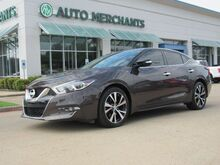 2016_Nissan_Maxima_3.5 SV NAV, HTD SEATS, BACKUP CAM, BLUETOOTH, PUSH BUTTON, REMOTE START, LEATHER, BLUETOOTH, SAT RAD_ Plano TX