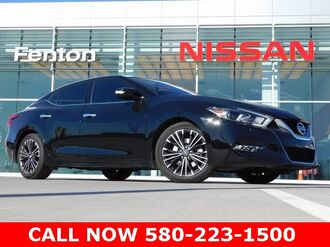 2016_Nissan_Maxima_Platinum Nissan Certified Pre-Owned One Owner Clean Carfax_ Ardmore OK