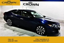 2016_Nissan_Maxima_SR **Navigation** Cooled Seats** Ascot Leather with Alcantara Se_ Winnipeg MB