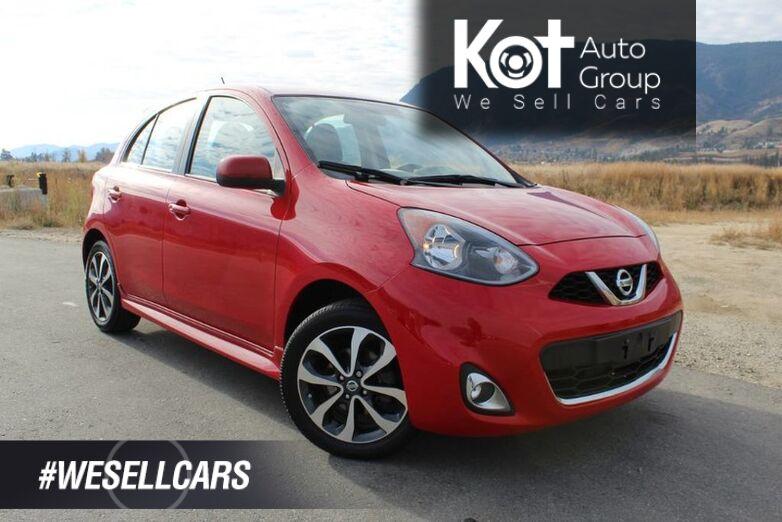 2016 Nissan Micra SR, One Owner, Low Km's Penticton BC