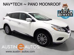 2016_Nissan_Murano AWD SL_*NAVIGATION, BLIND SPOT ALERT, PANORAMA SUNROOF, SURROUND-CAMERAS, HEATED SEATS, BLUETOOTH_ Round Rock TX
