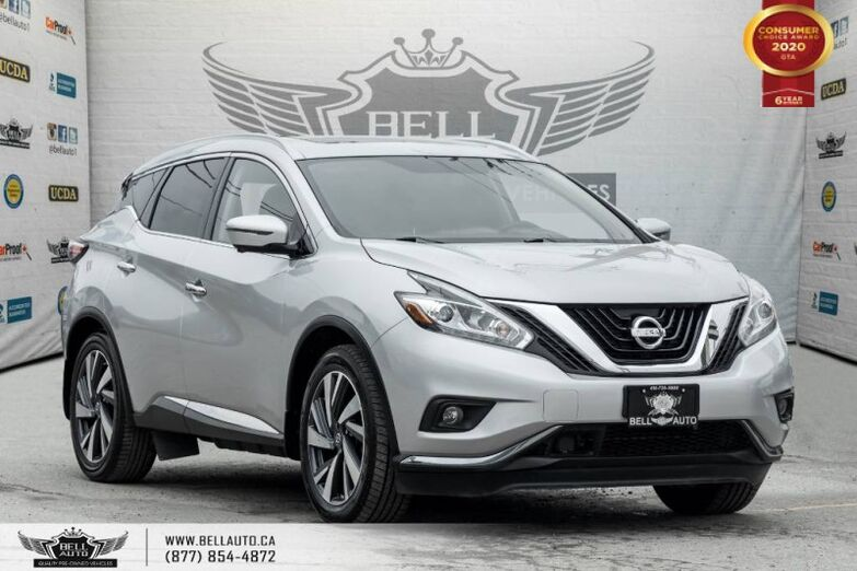 2016 Nissan Murano Platinum, AWD, NO ACCIDENT, NAVI, 360 CAM, COOLED SEAT Toronto ON
