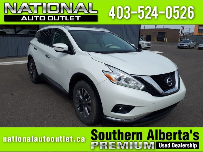 2016 Nissan Murano SL - ONE OWNER - CLEAN CAR PROOF - LOADED Lethbridge AB