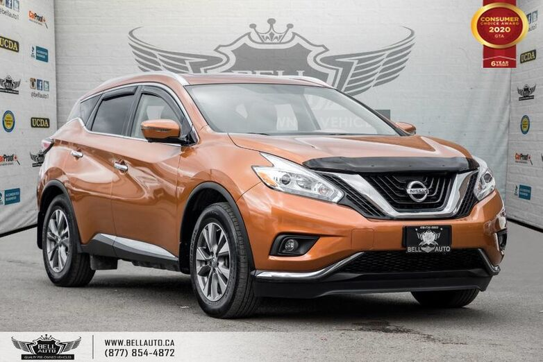2016 Nissan Murano SL, AWD, NO ACCIDENT, 360 CAM, NAVI, PANO ROOF, SENSORS Toronto ON