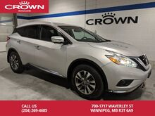 2016_Nissan_Murano_SL AWD *No Accidents/ One Owner/Leather*_ Winnipeg MB