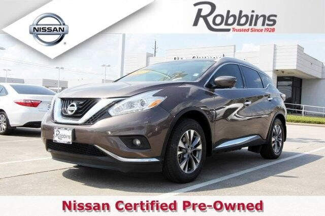 2016 Nissan Murano SL Houston TX
