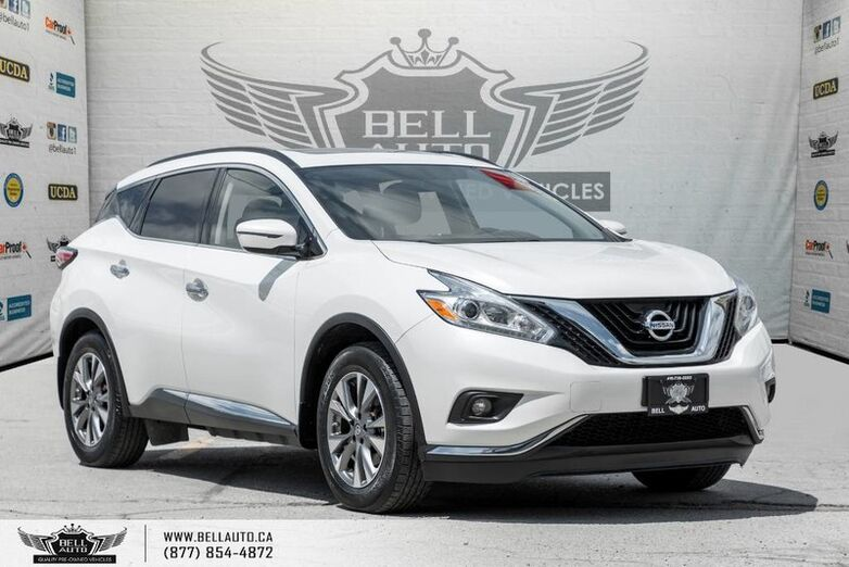 2016 Nissan Murano SV, AWD, NAVI, BACK-UP CAM, PANO ROOF, PUSH START, BLUETOOTH Toronto ON