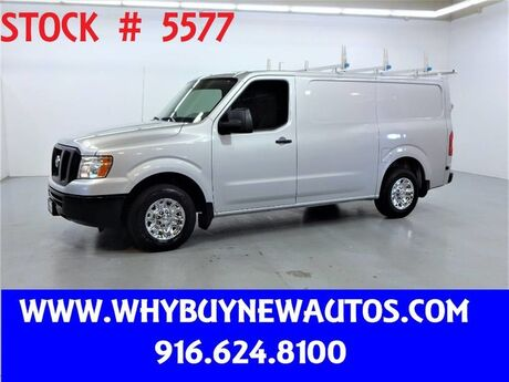 2016 Nissan NV 2500 ~ Ladder Rack and Shelves ~ Only 18K Miles! Rocklin CA