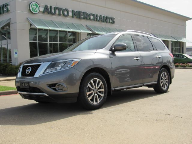 2016 Nissan Pathfinder S 2WD CLOTH SEATS, CD PLAYER, PUSH BUTTON, 3RD ROW SEATS, AUX INPUT, AM/FM RADIO, CRUISE Plano TX